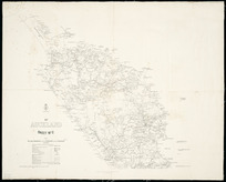 Provincial district of Auckland [cartographic material] / drawn by C.R. Pollen.
