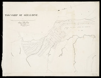 Township of Geraldine [cartographic material] / Sam Hewlings, chief surveyor