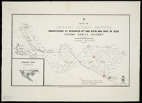 Plan of deferred payment sections [cartographic material] : subdivisions of reserves nos. 462, 2332 and part of 2331, Oxford survey district.
