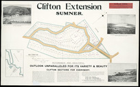 Clifton extension, Sumner [cartographic material] / [surveyed by] George Hanmer.
