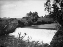 A weir in the Waihi district