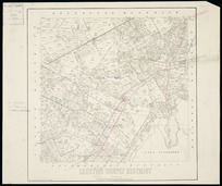Leeston Survey District [cartographic material] / drawn by H. McCardell.