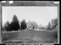 Country hospital in Ashburton - Photograph taken by A.W.H.