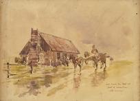 Hodgkins, William Mathew, 1833-1898 :[...] and reach the Hut at foot of Earnslaw (still raining). [ca 1890].