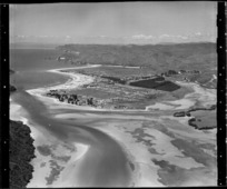 Looking south over Whangamata
