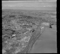 Otahuhu, Auckland, including Westfield Freezing Works and railway yards