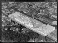 Industrial area, Newmarket, Auckland, including factory of Abels Limited
