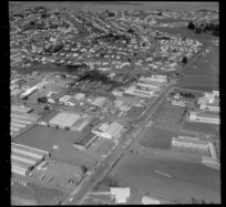 Industrial area, Carr Road and Frost Road, Mount Roskill, Auckland