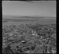 Auckland showing gasworks and Karangahape Road