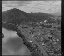 Waikato River and Taupiri, Waikato District