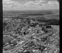 Waikato Hospital and river, Hamilton