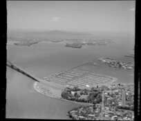 Waitemata Harbour including Westhaven Marina and approach to Auckland Harbour Bridge