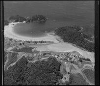 Coastal view featuring Matapouri, Whangarei District, Northland Region