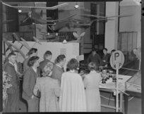 Opening of Model Aero Club display, Auckland Museum