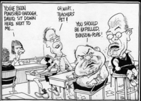 "Scott, Thomas, 1947-:""You've been punished enough, David, sit down here next to me..."" Dominion Post, 9 June 2005."