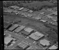 Unidentified factories, Glen Innes industrial area, Auckland