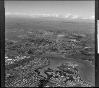 Tamaki Estuary with Pakuranga and Howick, Auckland