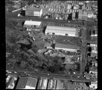 Factories in industrial area, Otahuhu, Manukau City, Auckland, including Westfield Freezing Works (Affco)
