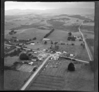 Mangawhai, Northland, showing houses and intersection