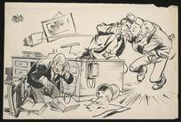 "Colvin, Neville Maurice, 1918-1991:""Hello, is that Count Folke Bernadotte..."" [1946-1948]"