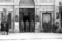 New Zealand sentries, Trieste, Italy, World War 1939-1945