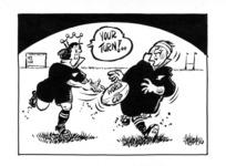 Hubbard, James, 1949- :Your turn! 18 May 1998.