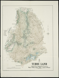 Tūhoe land [cartographic material] / compiled from topographical surveys by Messrs. Philips, Foster, Baber, Clayton & Mouat ; drawn by G.P. Wilson.