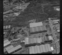 Unidentified factories in industrial area, Auckland, including quarry [Mt Wellington?]