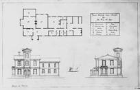 [D...on, H?], fl 1875 :House erected near Marton for the Honourable W Fox, Feb. 13, 1874.