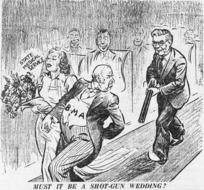 McAnally, I, fl 1930-1950s :Must be a shot-gun wedding? State medical service. B.M.A. 22 June 1939.