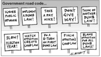 Government road code... 11 August, 2005