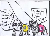 "Doyle, Martin, 1956- :""I'm nobody's poodle! Woof! Woof!"" ... 5 December 2011"