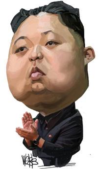 Webb, Murray, 1947- :[Kim Jong Un]. 27 December 2011