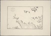Plan du Port Manawa (Baie des Iles, Nouvelle Zélande) [cartographic material] / levé par MM. B̄̄érard, de Bois et de Blosseville, Officier de la Marine, Expédition de la corvette de S.M. la Coquille commandée par M.L.I. Duperry, Capitaine de Frigate (Avril 1824).