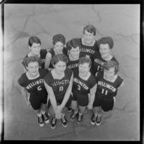 Wellington indoor basketball team
