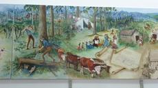 Dannevirke Community Library mural