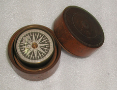 A marine compass