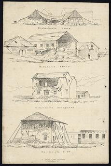 1848 earthquake damage