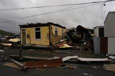 Tornado in Greymouth
