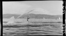 Water-skiing demonstration