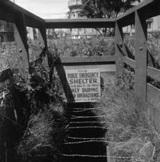 1945 air raid shelter
