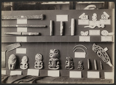 Māori artifacts in the Auckland Museum