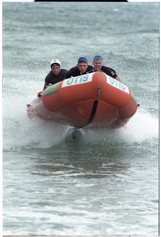 Surf lifeboat crew