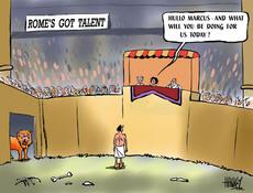 Rome's got talent