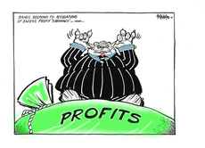 Excess profit of banks
