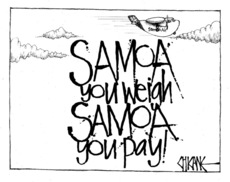 Samoa you weigh