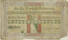 One pound note - Kotahi pauna