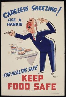 Use a hankie