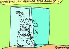 Marlborough weather in August