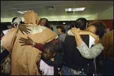 Ethiopian refugees reunite